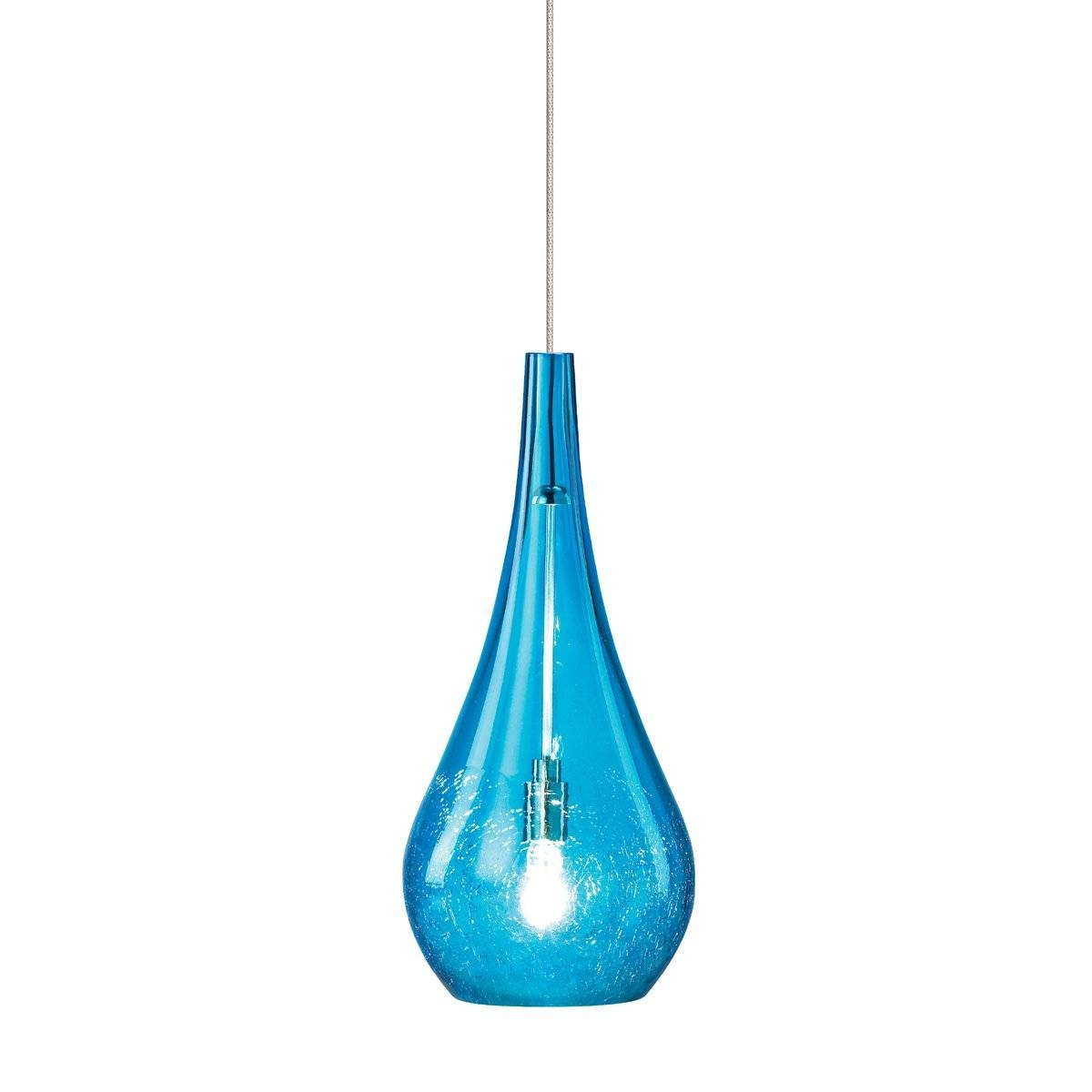 Blue Pendant Lights #17493 with regard to Cobalt Blue Mini Pendant Lights (Image 5 of 15)
