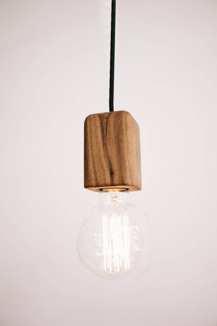 Bodhi Wooden Pendant Small - Sustainable Timber Feature Lighting - Tlp within Pendant Lights Perth (Image 4 of 15)