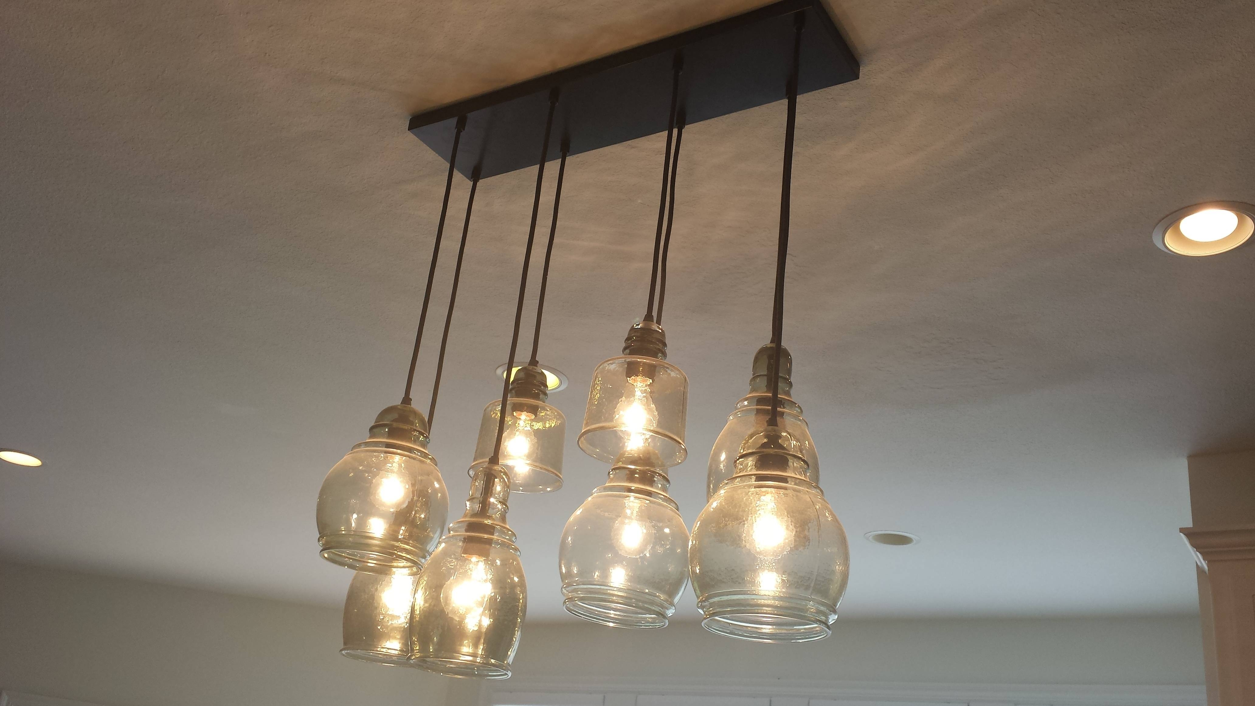 Featured Photo of Paxton Glass 8 Light Pendants