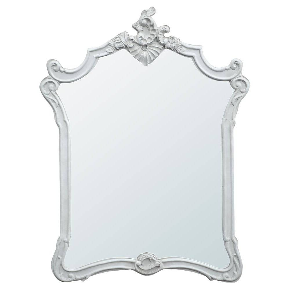 Boudoir Provence Baroque Antique French Style Mirror | French in French Style Mirrors (Image 2 of 15)