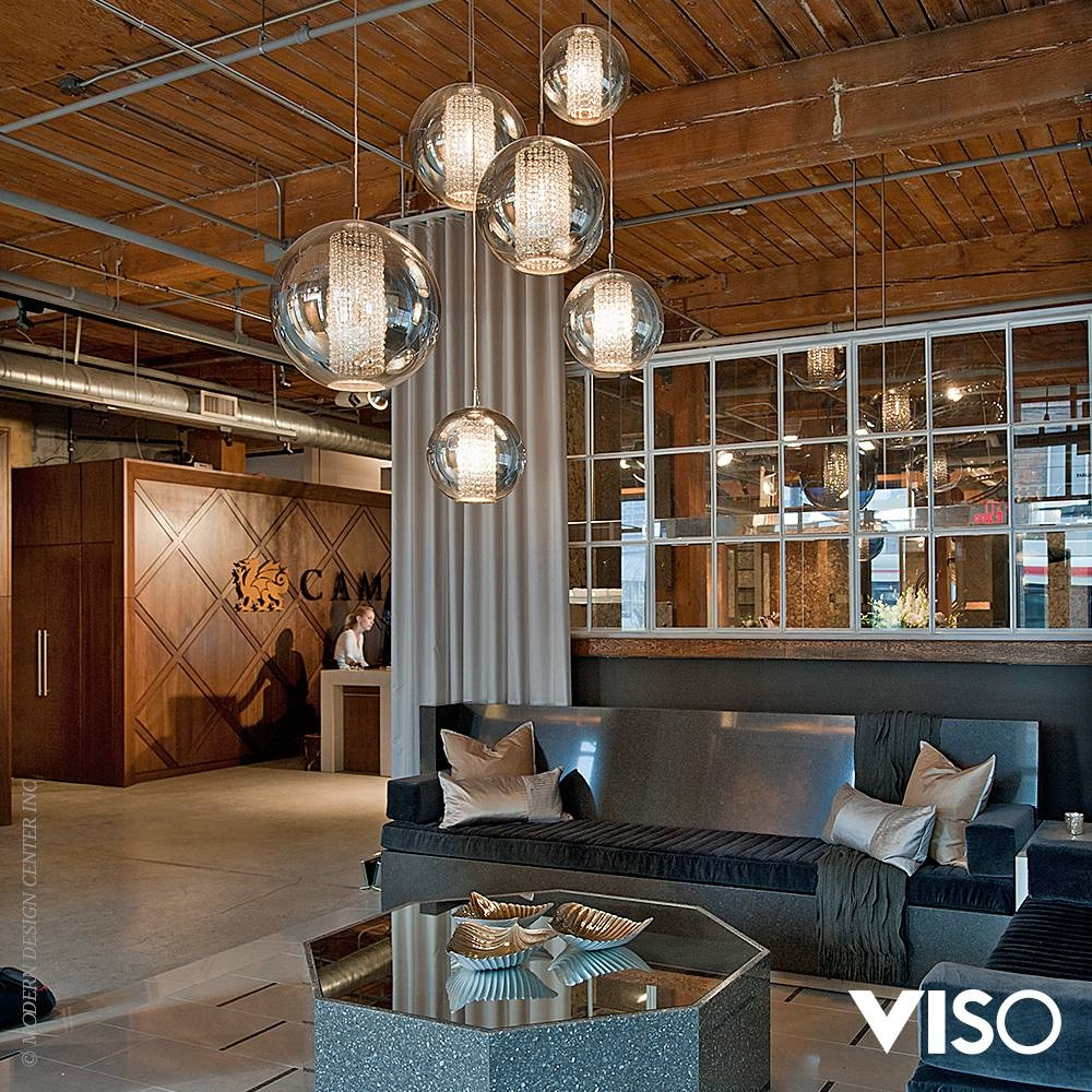 Brands > Viso inside Bolio Pendant Lights (Image 12 of 15)