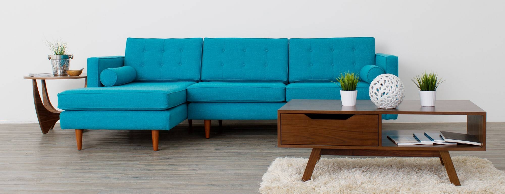 Braxton Sectional | Joybird in Braxton Sectional Sofas (Image 6 of 15)