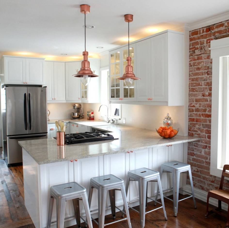 Breathtaking Ikea Kitchen Island Hack With Copper Industrial for Ikea Kitchen Pendant Lights (Image 2 of 15)