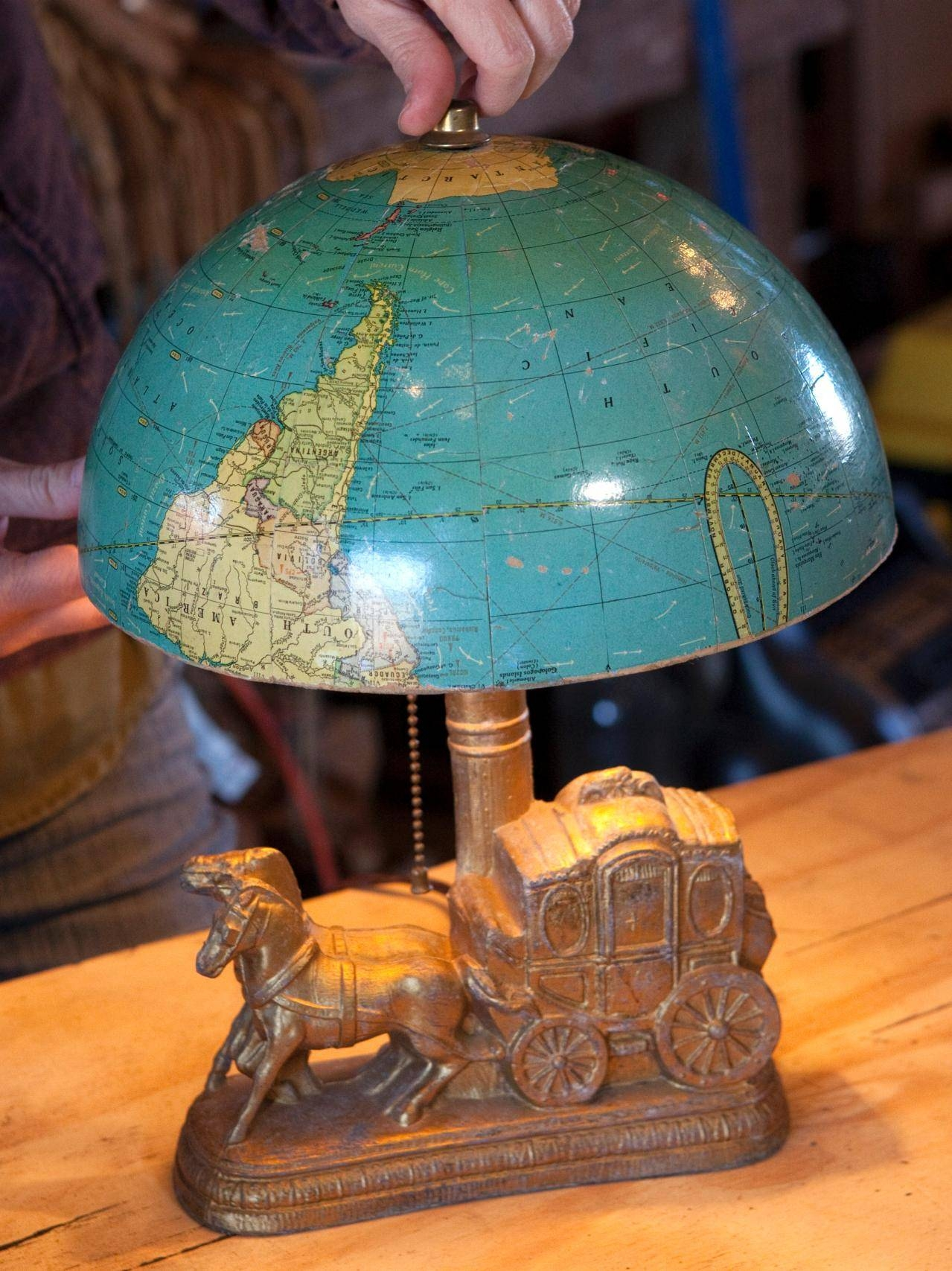 Brighten Up With These Diy Home Lighting Ideas | Hgtv's Decorating throughout World Globe Pendant Lights (Image 3 of 15)