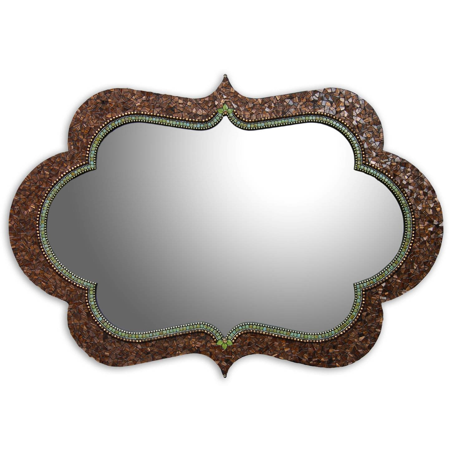 Featured Photo of Bronze Mosaic Mirrors