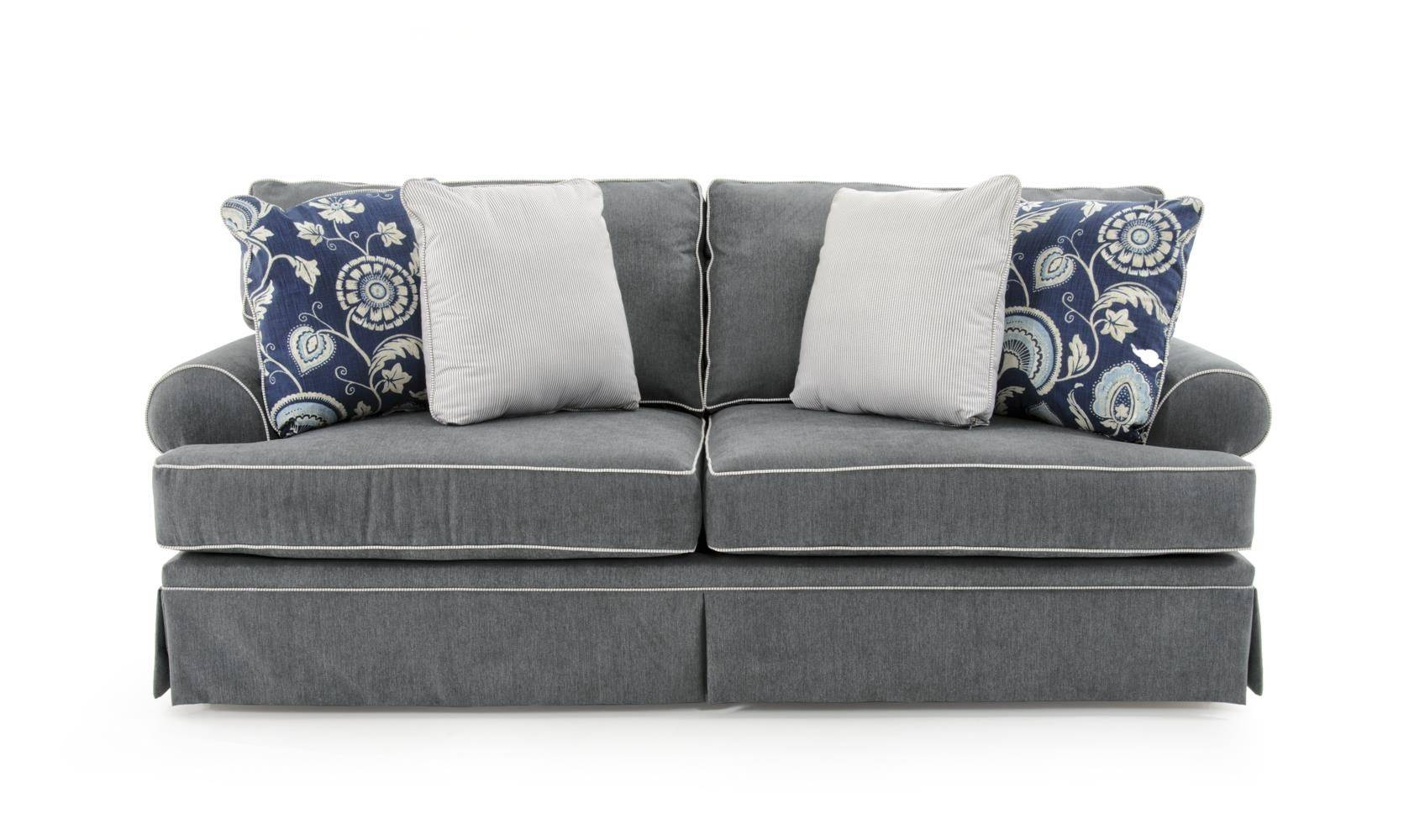 Broyhill Furniture Emily Queen Goodnight Sleeper Sofa – Baer's In Broyhill Emily Sofas (View 4 of 15)