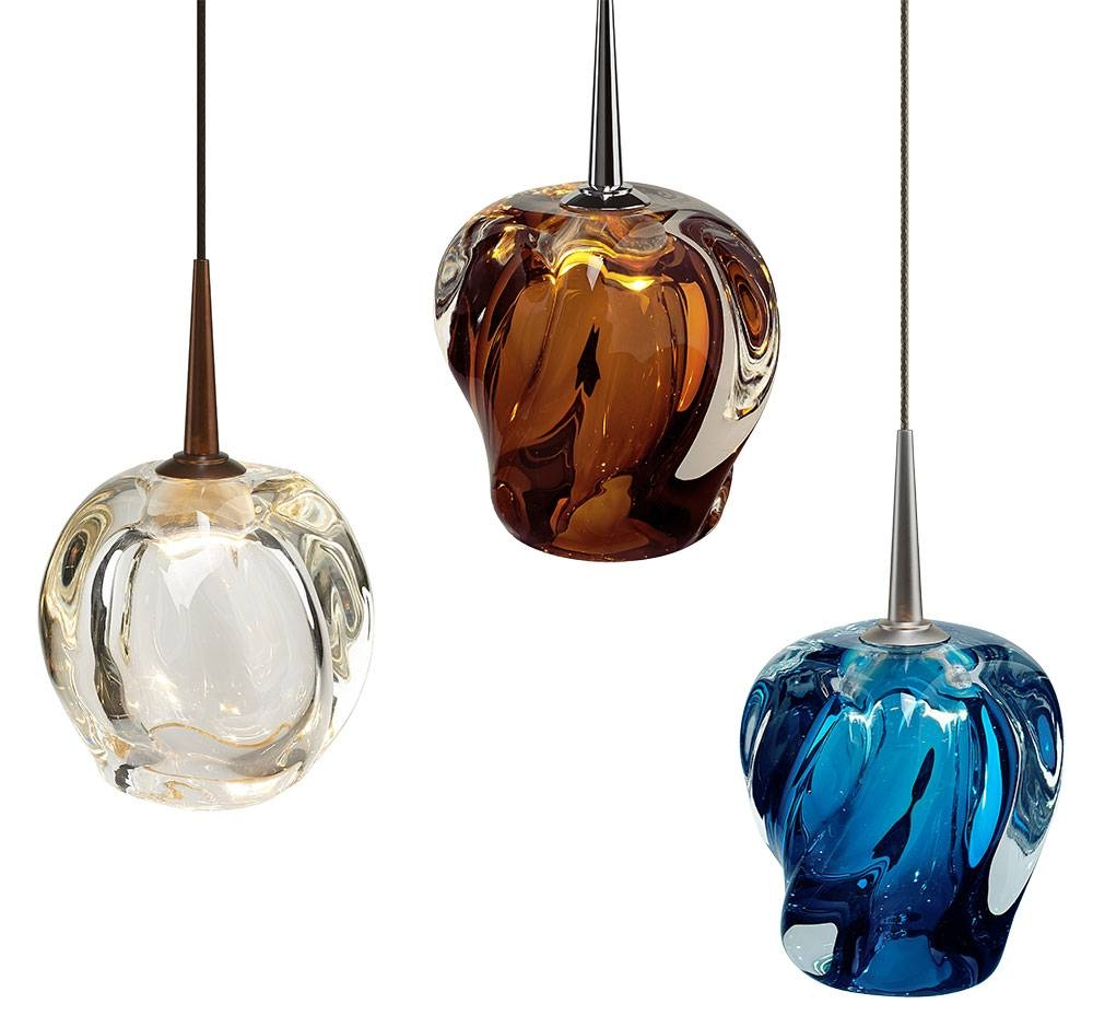 Bruck Aurora Contemporary Halogen Mini Hanging Lamp - Bru-Aurora-Low intended for Halogen Mini Pendant Lights (Image 2 of 15)