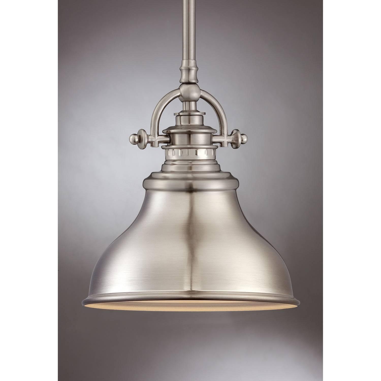 Brushed Nickel Pendant Lighting Kitchen - Baby-Exit in Satin Nickel Pendant Light Fixtures (Image 6 of 14)