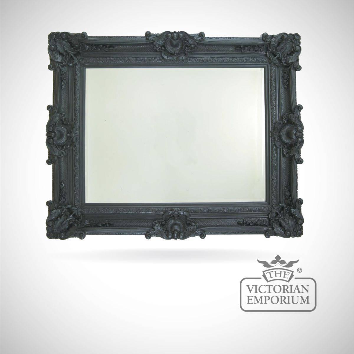 Buckinghamshire Black Mirror 224Cm X 142Cm | Mirrors pertaining to Black Mirrors (Image 5 of 15)