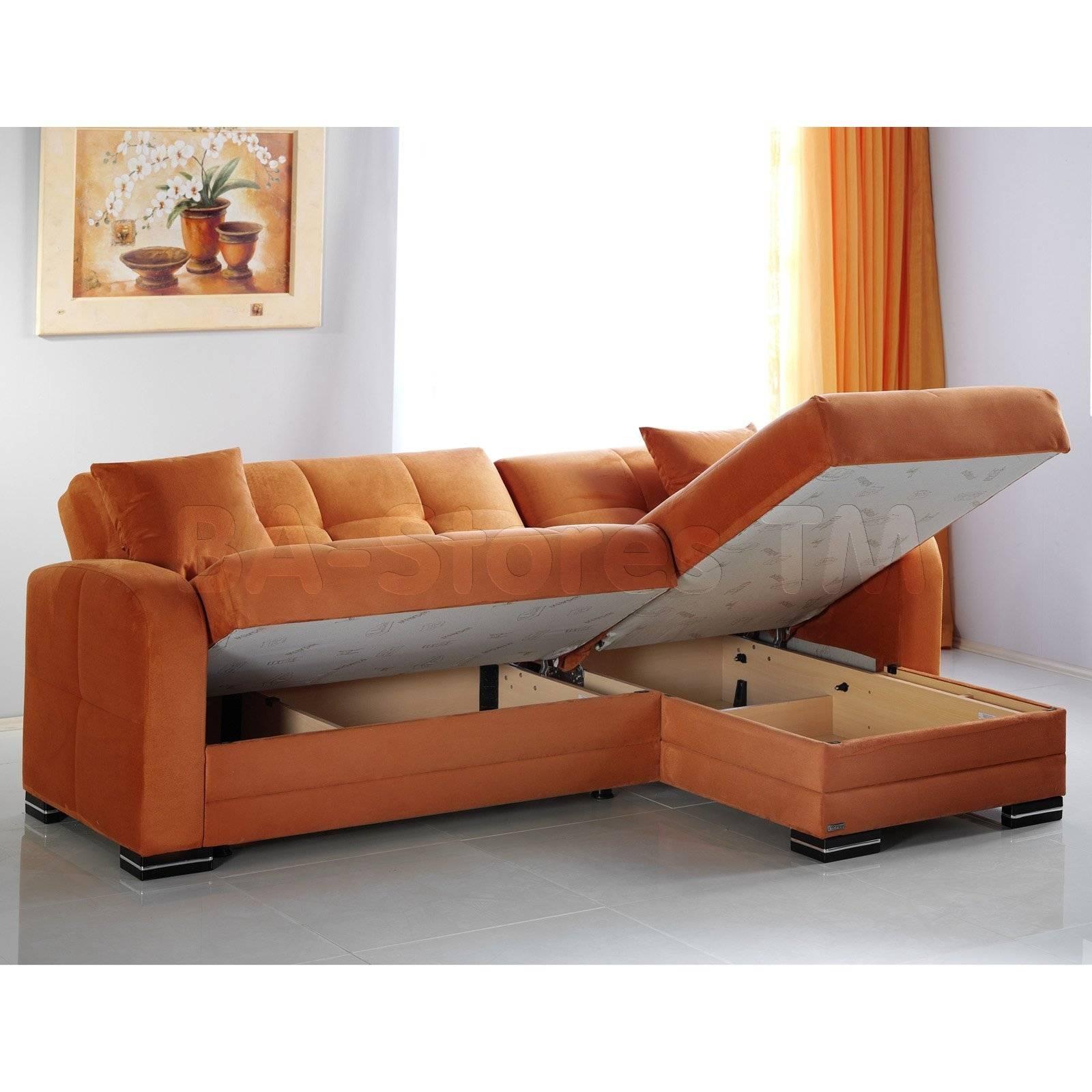 Burnt Orange Sectional Sofa - Cleanupflorida in Burnt Orange Leather Sectional Sofas (Image 4 of 15)