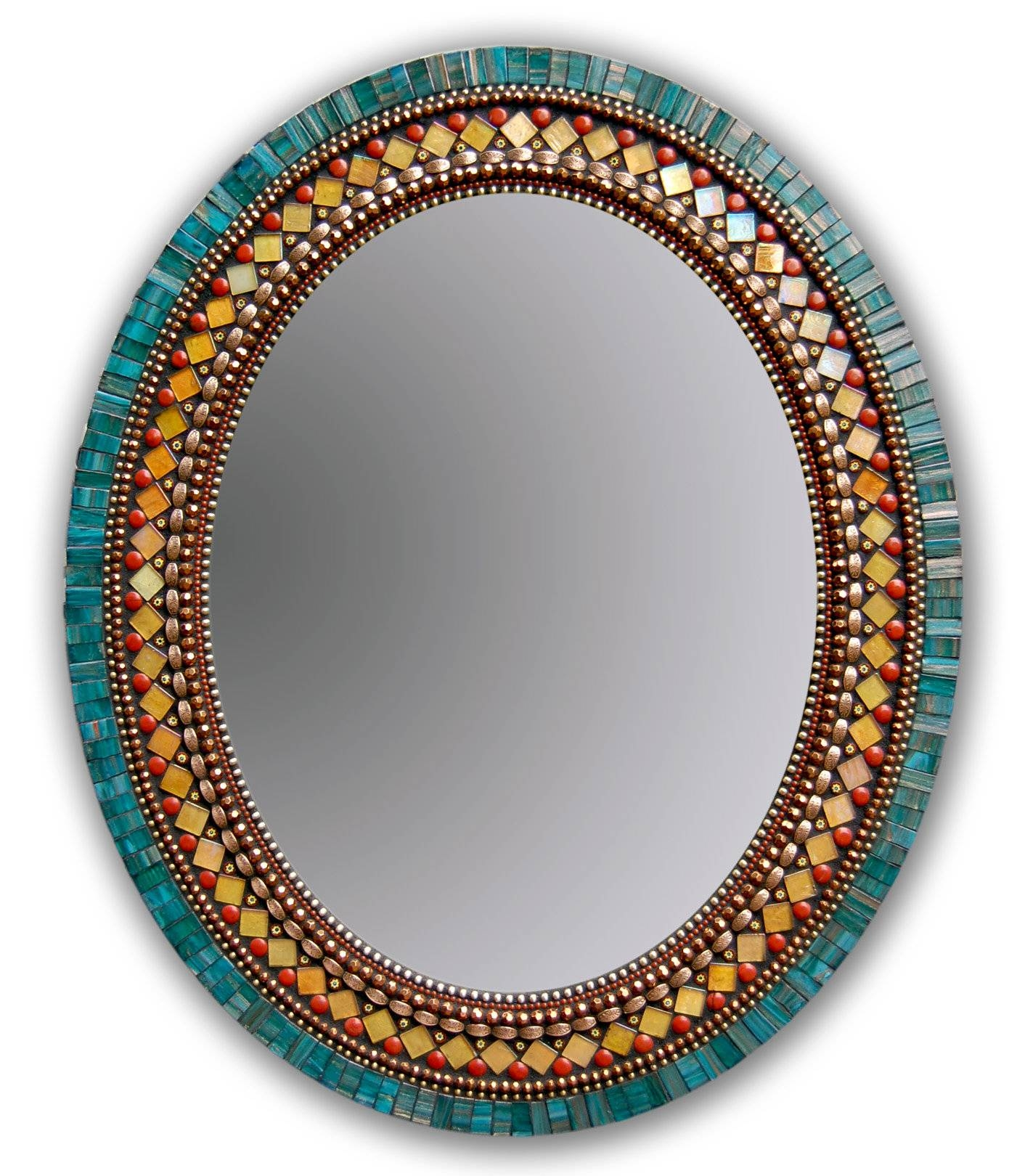 Butterfly Mirrorangie Heinrich (Mosaic Mirror) | Artful Home regarding Large Mosaic Mirrors (Image 2 of 15)