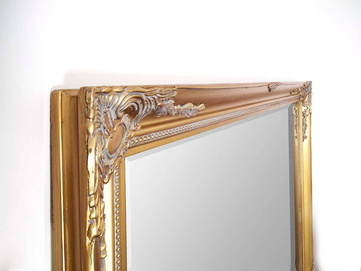 Buxton Extra Large Gold Framed Ornate Mirror 140Cm X 200Cm | Large For Large Gold Ornate Mirrors (View 3 of 15)