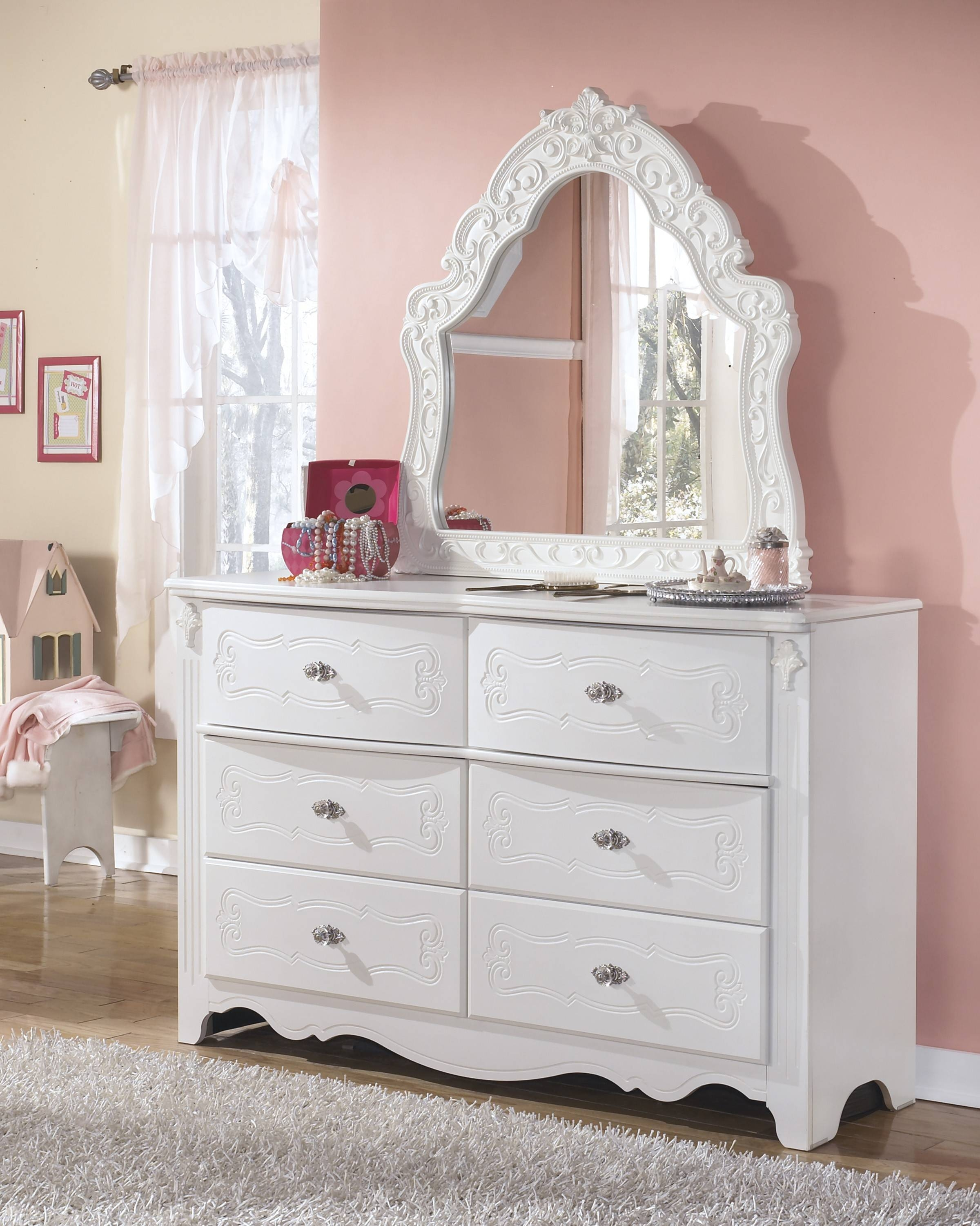 Buy Exquisite French Style Bedroom Mirrorsignature Design From within French Style Mirrors (Image 3 of 15)
