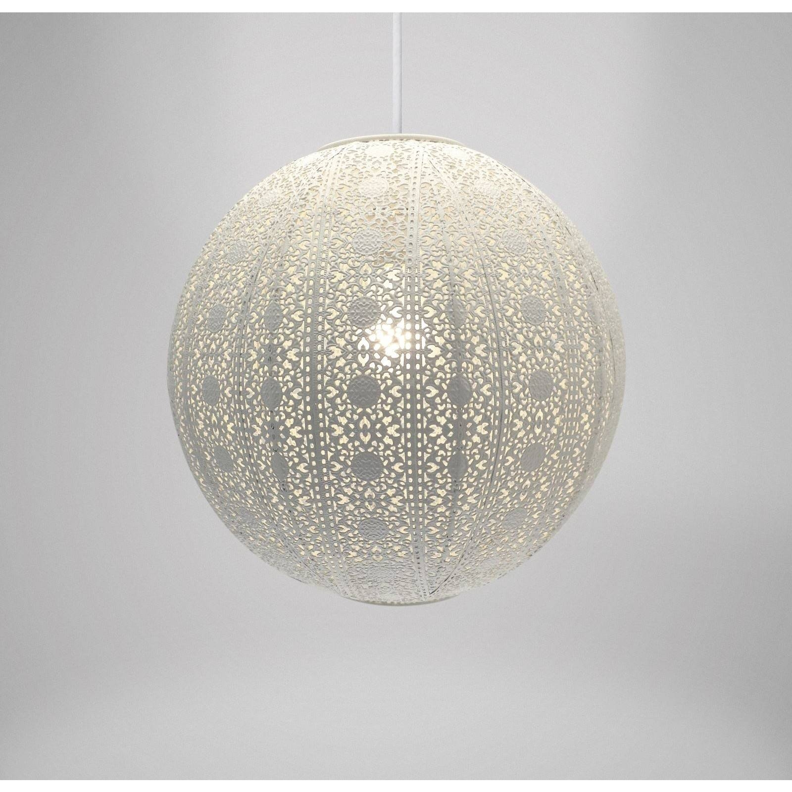 Featured Photo of Moroccan Punched Metal Pendant Lights