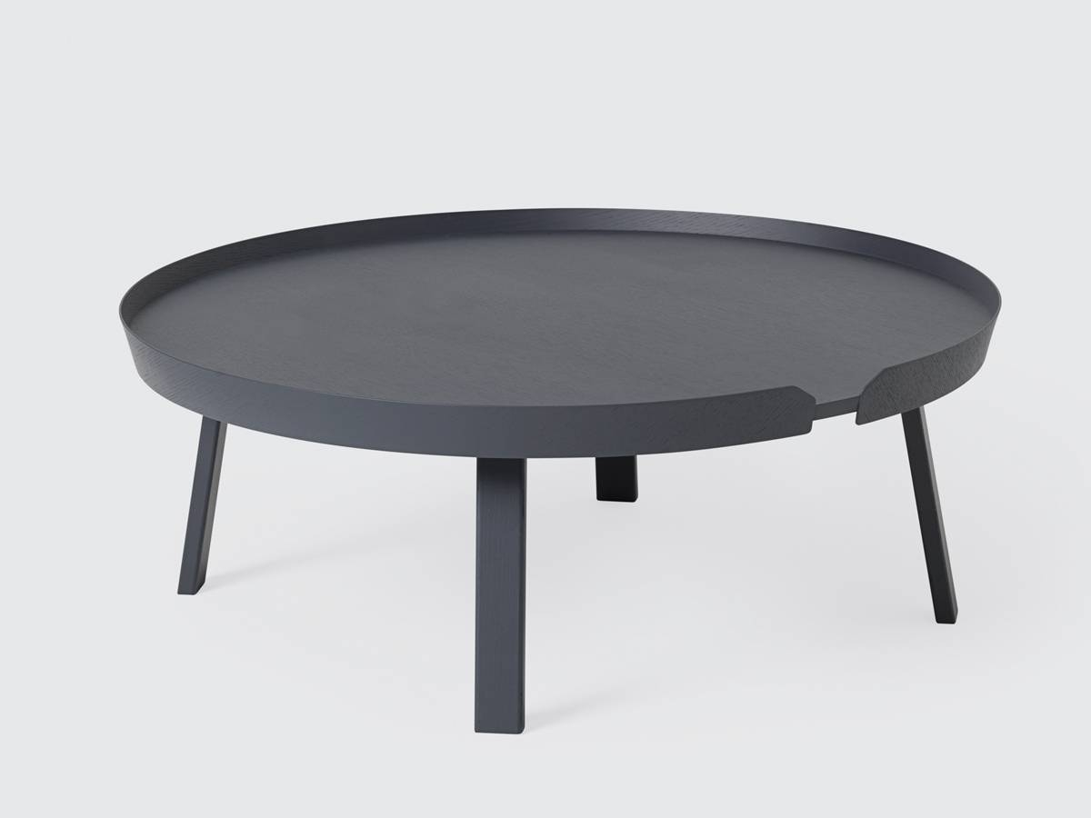 Buy The Muuto Around Coffee Table Extra Large At Nest.co.uk in Extra Large Coffee Tables (Image 2 of 15)