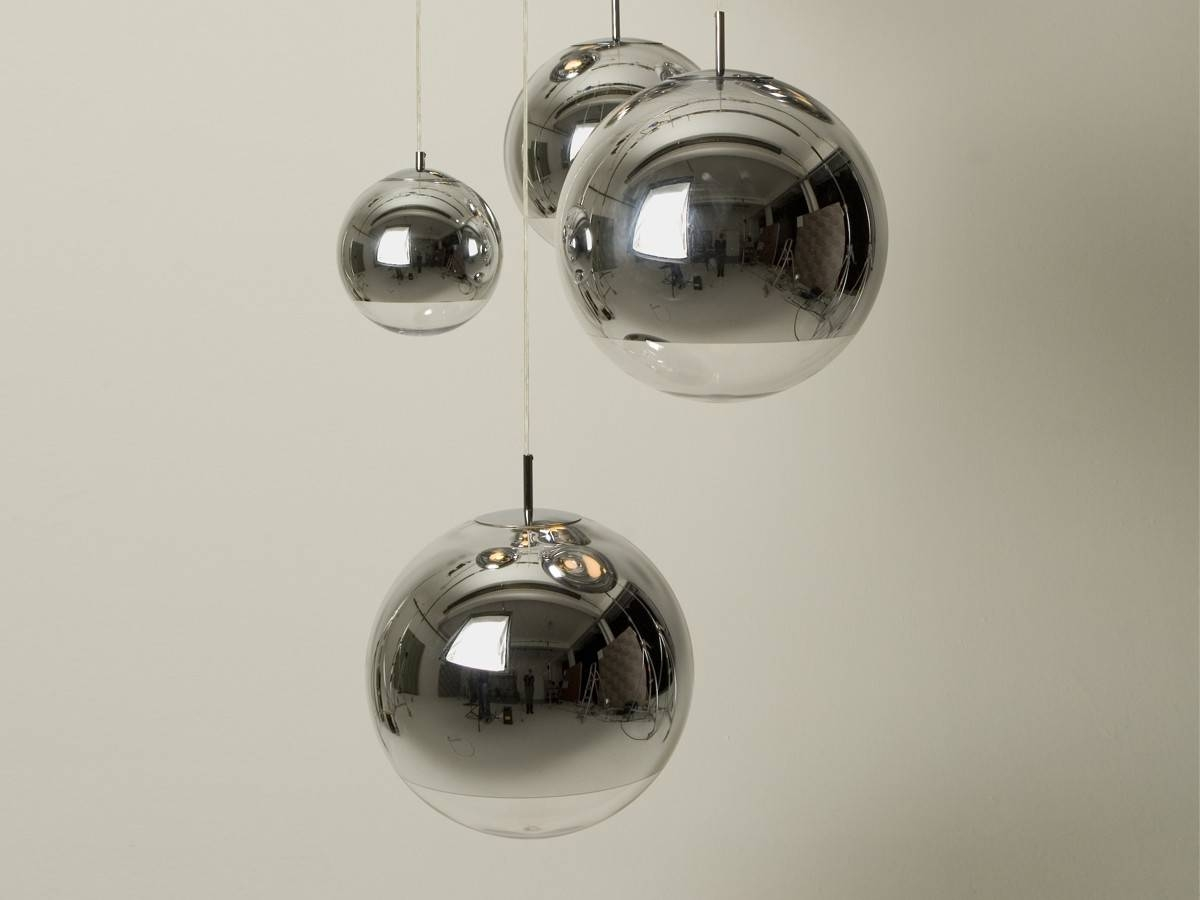 Buy The Tom Dixon Mirror Ball Pendant Light 25Cm At Nest.co (View 2 of 15)