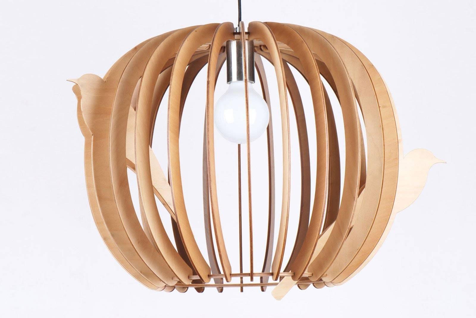 Buy Wood Pendant Light In Melbourne [Birds Nest] - Youtube in Bentwood Pendants (Image 4 of 15)