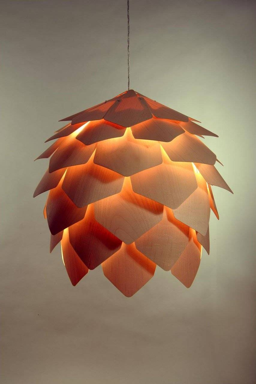 Buy Wood Pendant Light In Melbourne [Pinecone 2] - Youtube throughout Wooden Pendant Lights Melbourne (Image 4 of 15)
