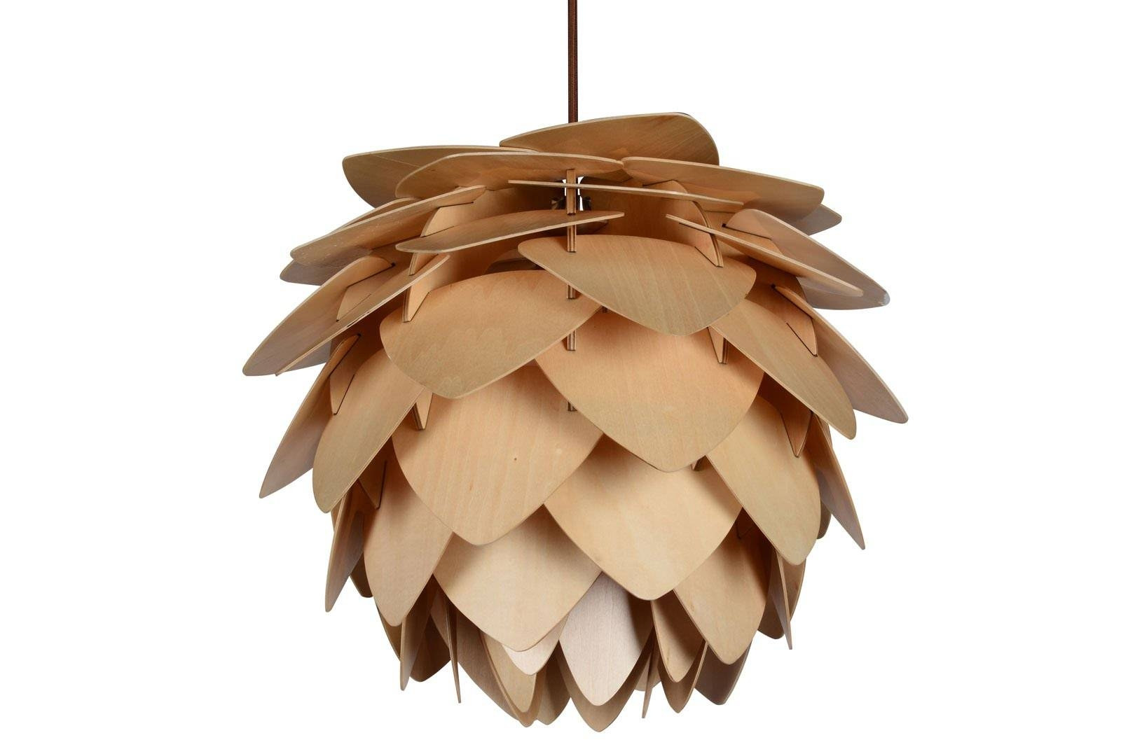 Buy Wood Pendant Light In Melbourne [Pinecone] - Youtube with Wooden Pendant Lights Melbourne (Image 5 of 15)