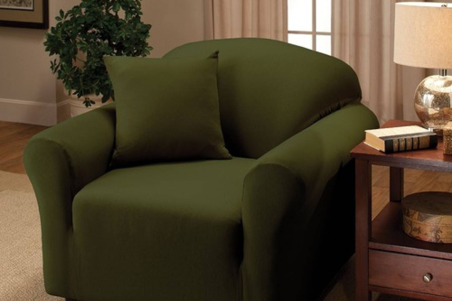 Buying Guide: The Best Slipcovers To Give Your Sofa A Fresh Look inside Canvas Sofas Covers (Image 3 of 15)