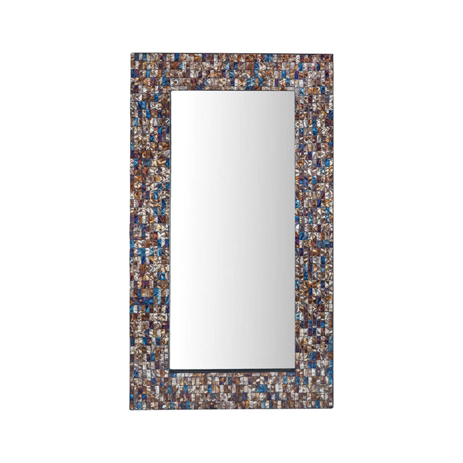 Byzantion Bronze Mosaic Mirror Sterling Industries Wall Mirror pertaining to Bronze Mosaic Mirrors (Image 6 of 15)