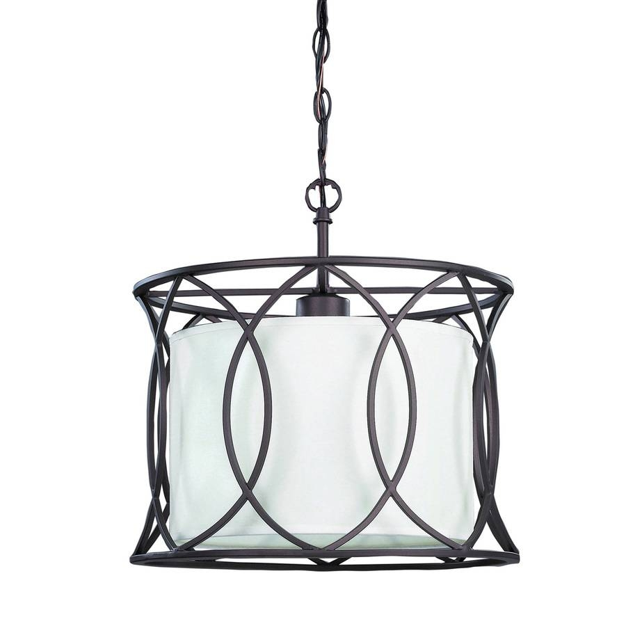 Cage Chandelier Pendant. Perdue 1Light Matte Black Geometric Cage inside Wrought Iron Lights Pendants (Image 4 of 15)