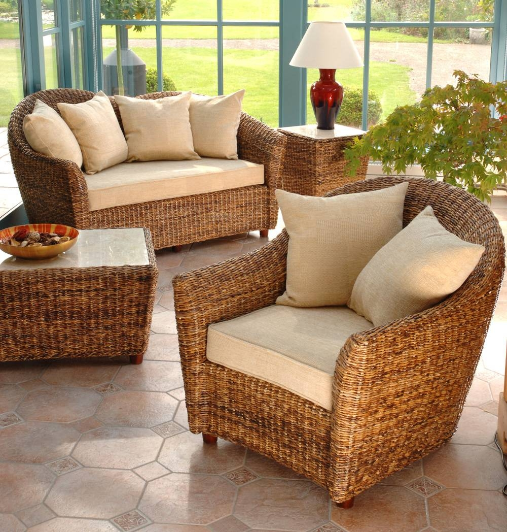 Cane Conservatory Suites - Simply Cane Furniture regarding Cane Sofas (Image 1 of 15)