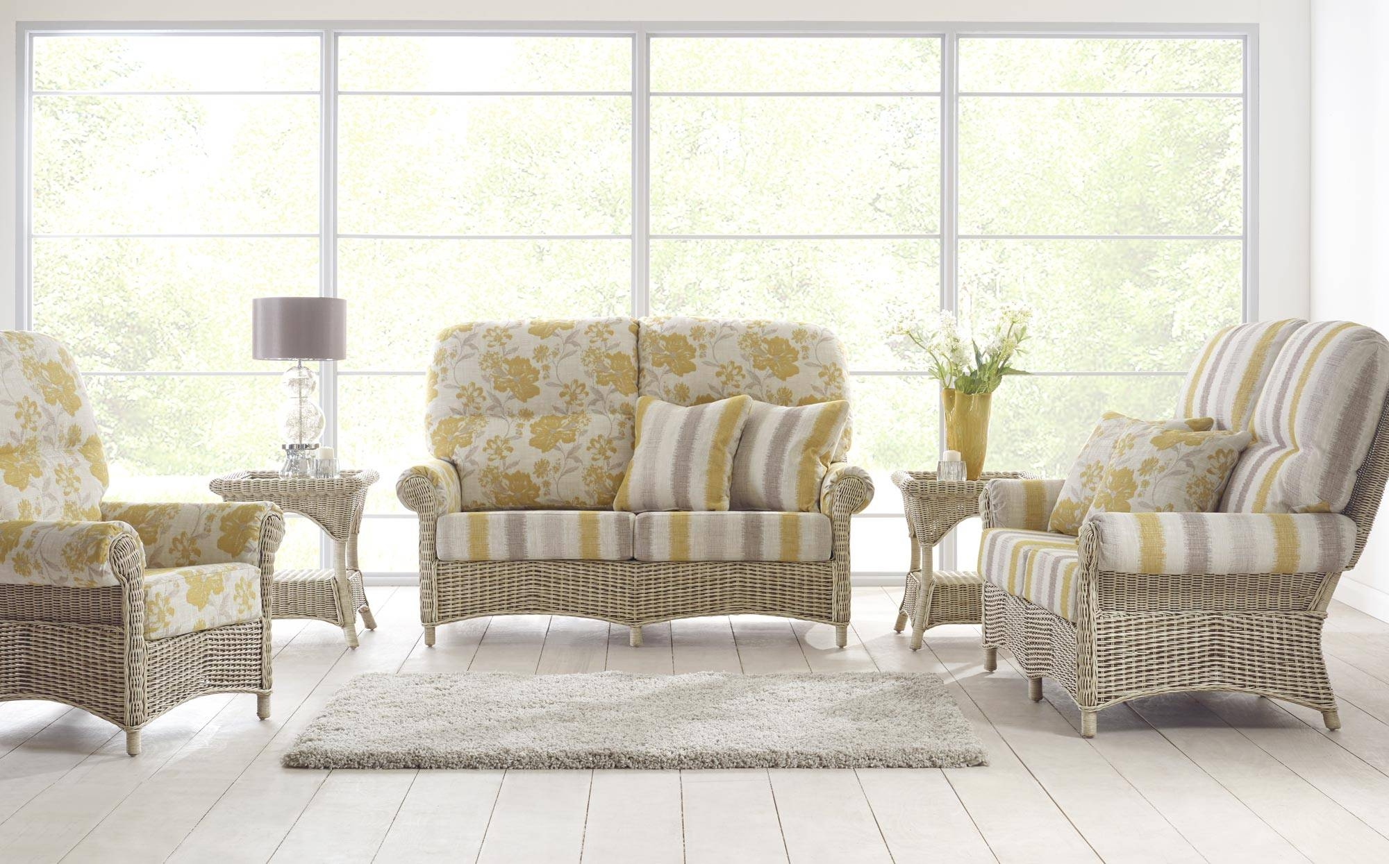Cane Furniture | Rattan | Wicker |Conservatory Furniture | Vaseys pertaining to Cane Sofas (Image 4 of 15)