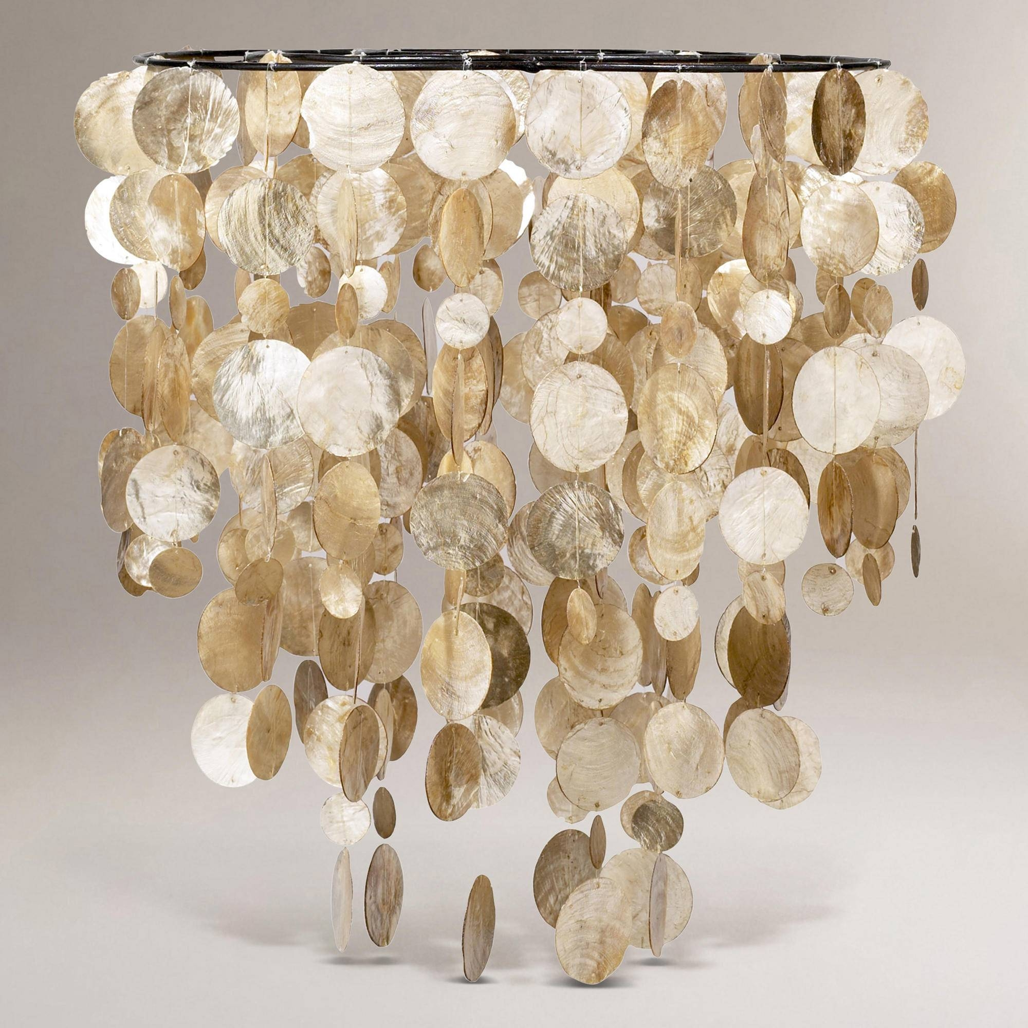 Capiz Shell Pendant Light - Baby-Exit with regard to Shell Light Shades Pendants (Image 1 of 15)