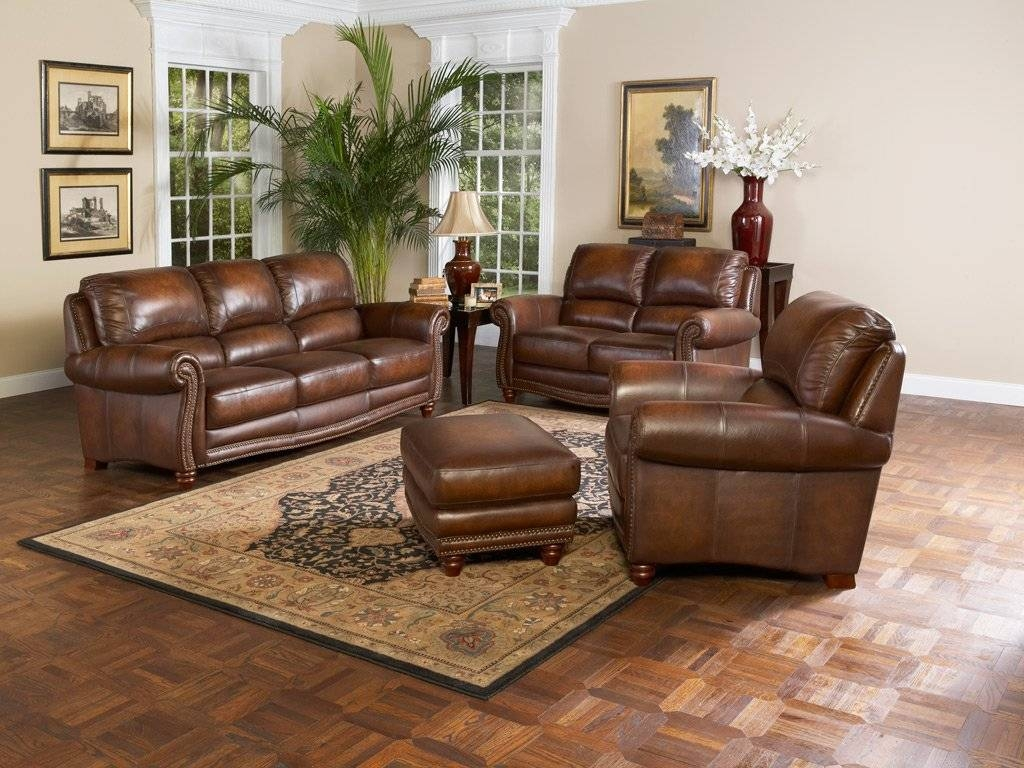Captivating 50+ Brown Leather Sofa Living Room Ideas Decorating within Living Room Sofas And Chairs (Image 1 of 15)
