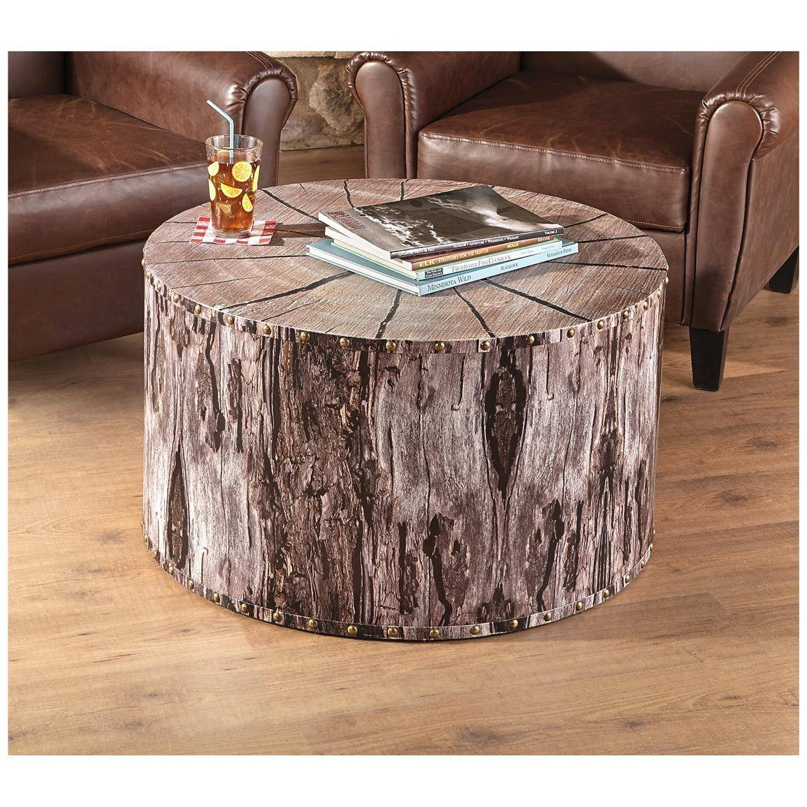 Castlecreek Tree Trunk Coffee Table - 664330, Living Room At throughout Tree Trunk Coffee Table (Image 3 of 15)