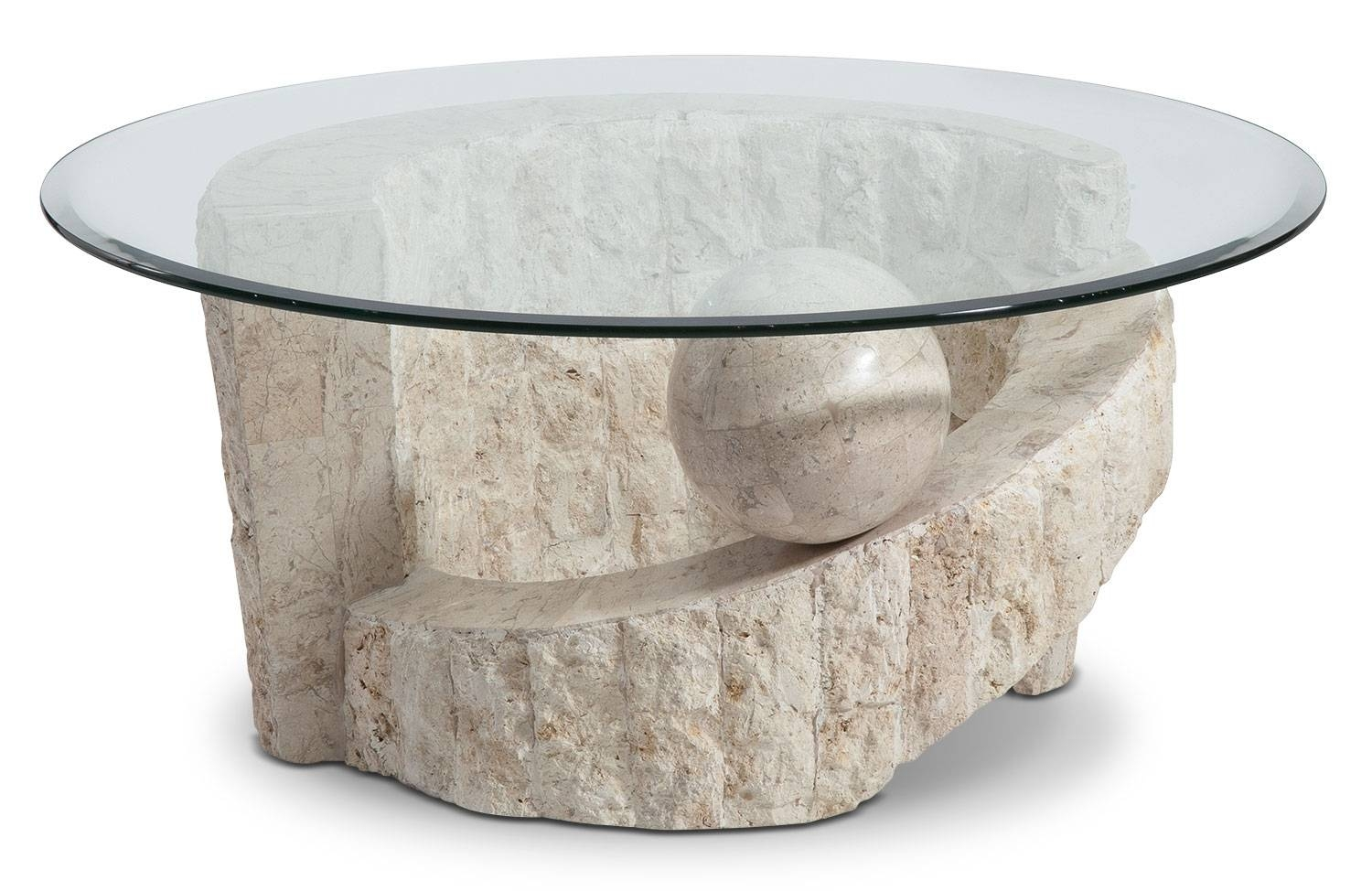 Catalina Coffee Table | The Brick within Stone Coffee Table (Image 4 of 15)