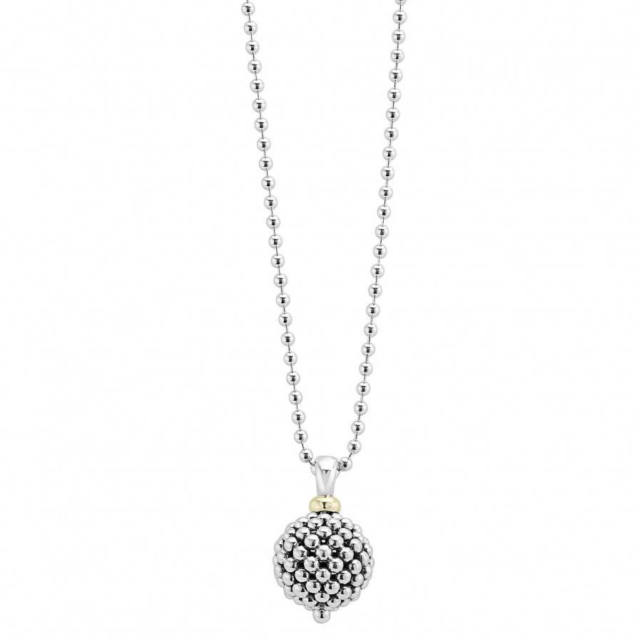 Caviar Ball Pendant | Caviar Forever | Lagos Jewelry with regard to Caviar Pendants (Image 8 of 15)