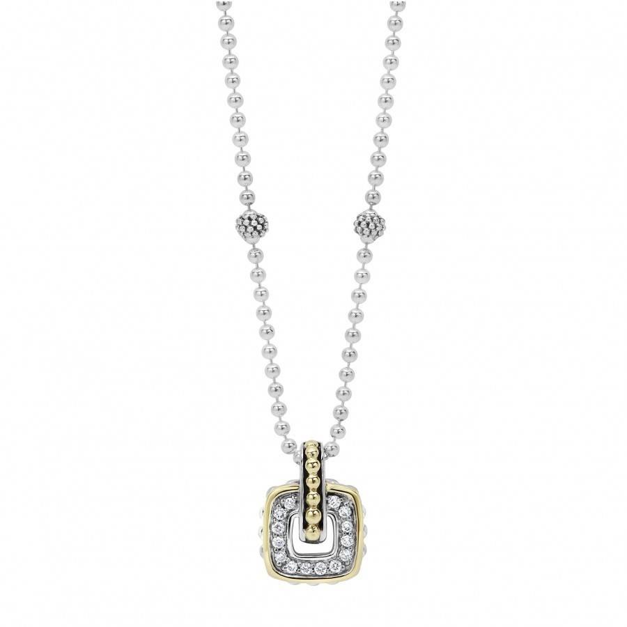 Caviar Pendant | Cushion | Lagos Jewelry with regard to Caviar Pendants (Image 9 of 15)