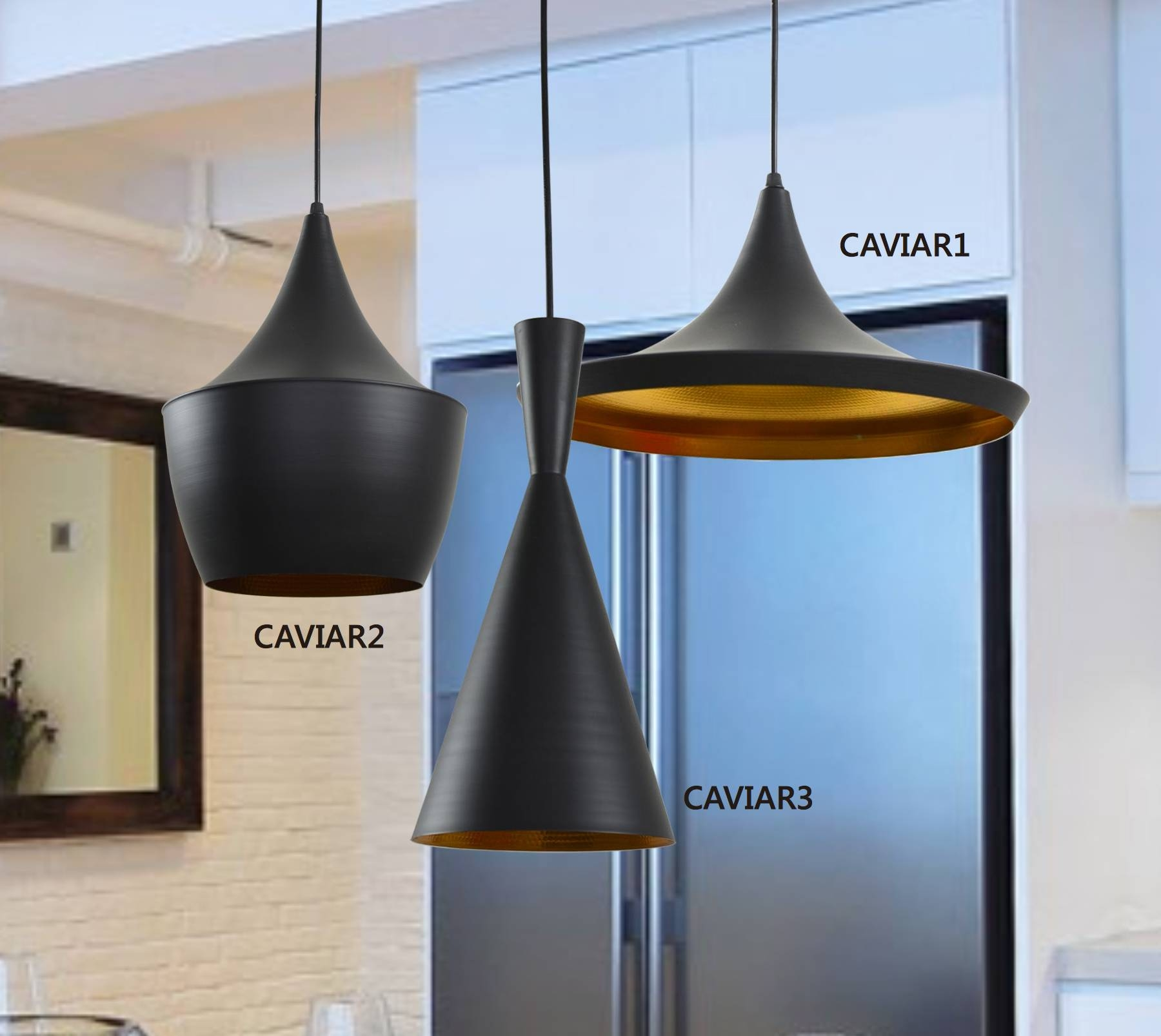 Caviar Series Pendant Light (3 Sizes) – Lighting Matters with Caviar Lights (Image 9 of 15)
