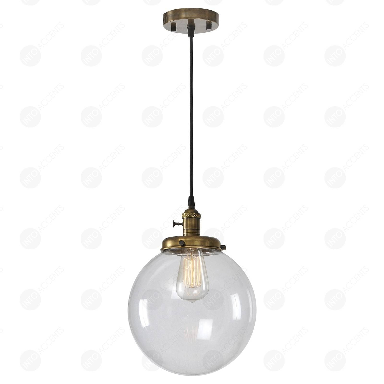 Ceiling Lights : Glass Globe Pendant Light Diy Excellent Antonio within Cb2 Pendant Lights (Image 3 of 15)