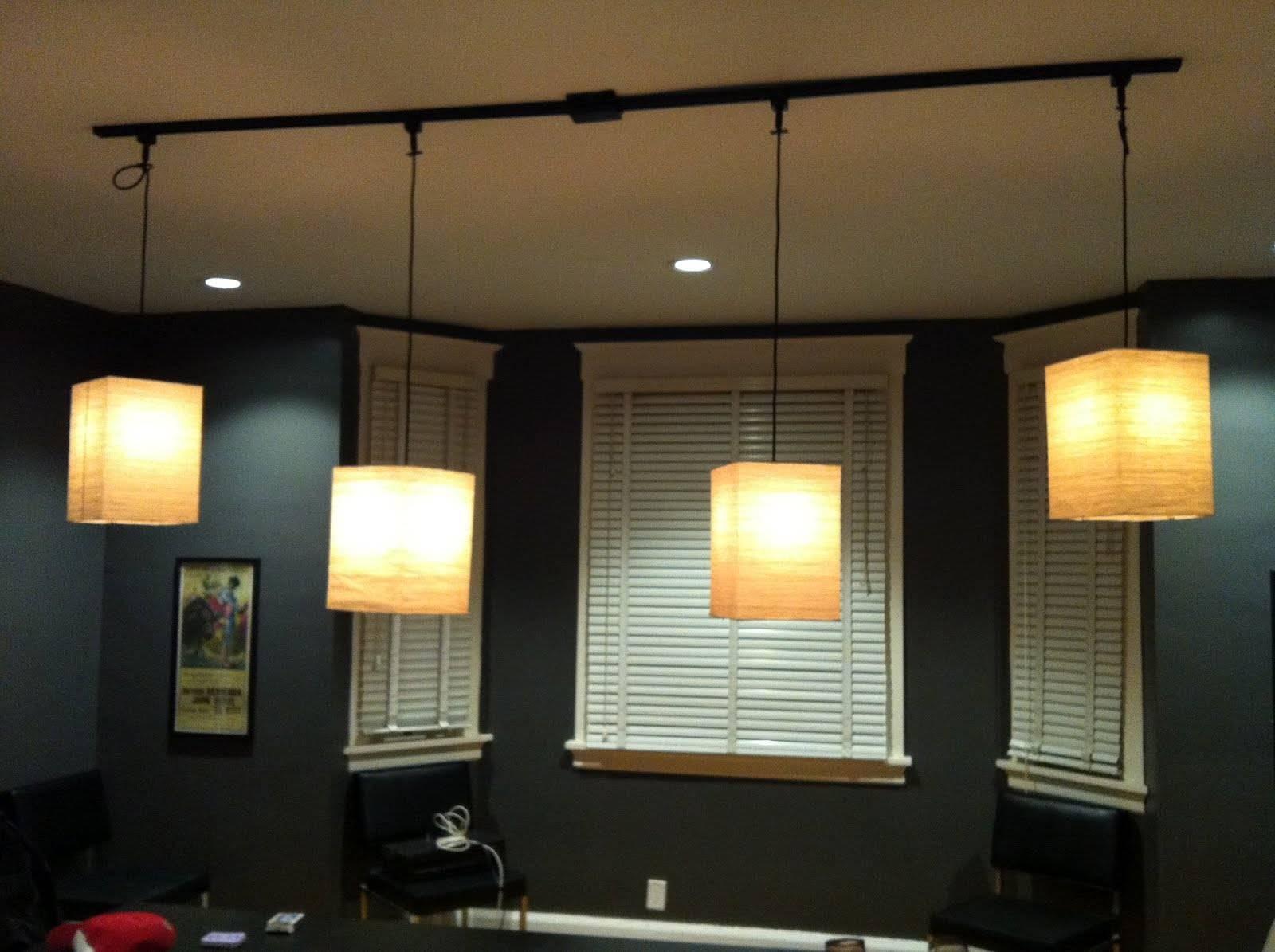 Ceiling Lights : Stunning Track Lighting Pendant Exposed Bulb within Exposed Bulb Pendant Track Lighting (Image 8 of 15)