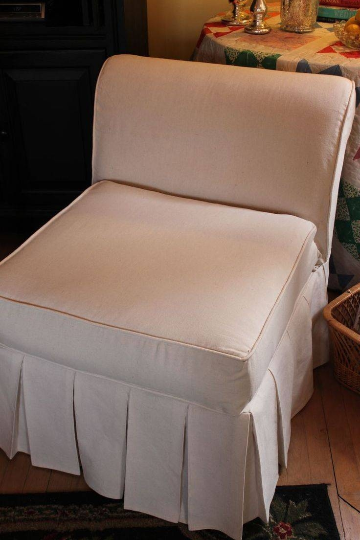 Chair Furniture Chair Slipcovers Cheap Target T Cushion Dining intended for Armless Slipcovers (Image 2 of 15)