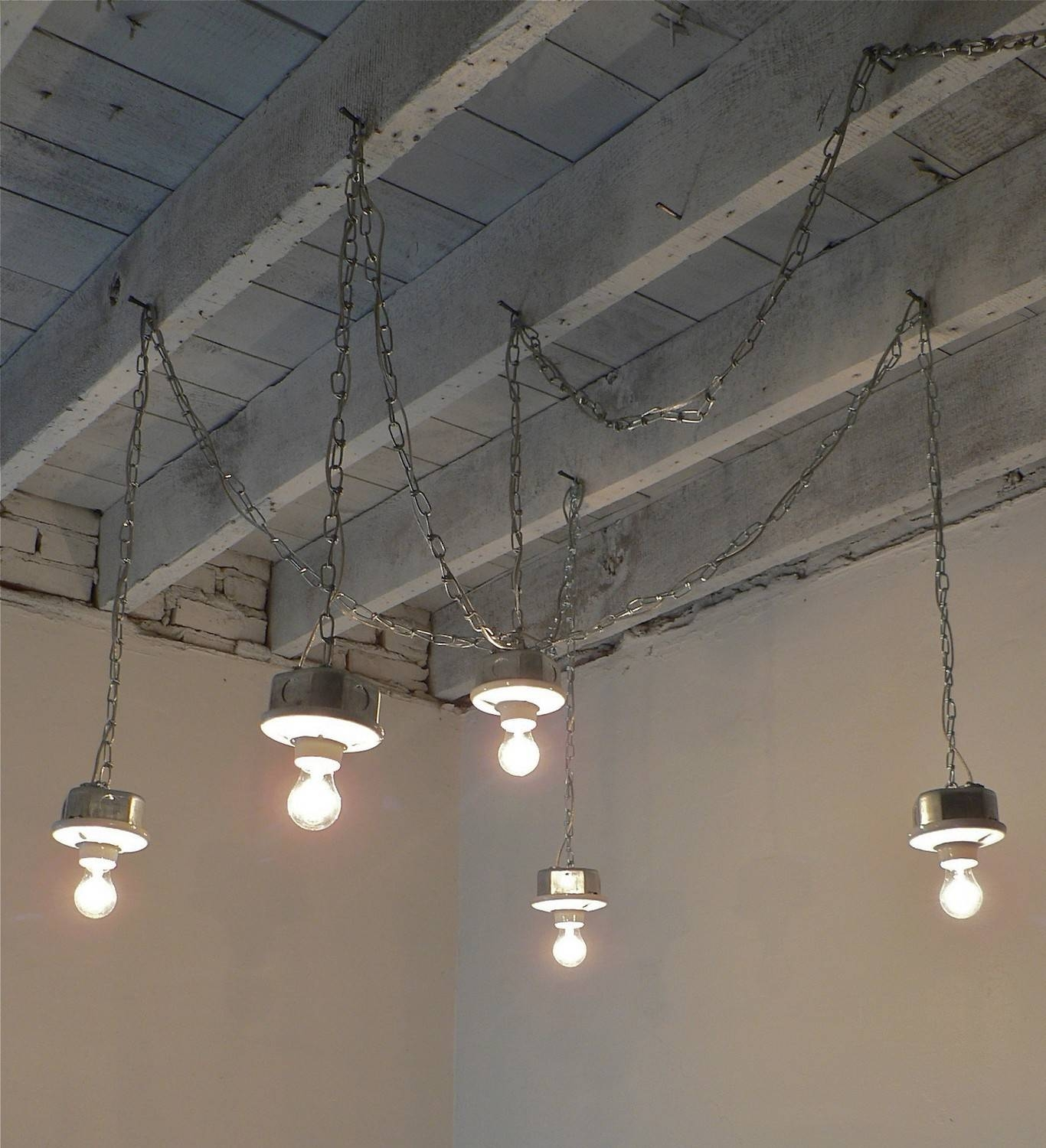 Chandelier. Awesome Hanging Plug In Chandelier: Awesome-Hanging pertaining to Plugin Ceiling Lights (Image 2 of 15)