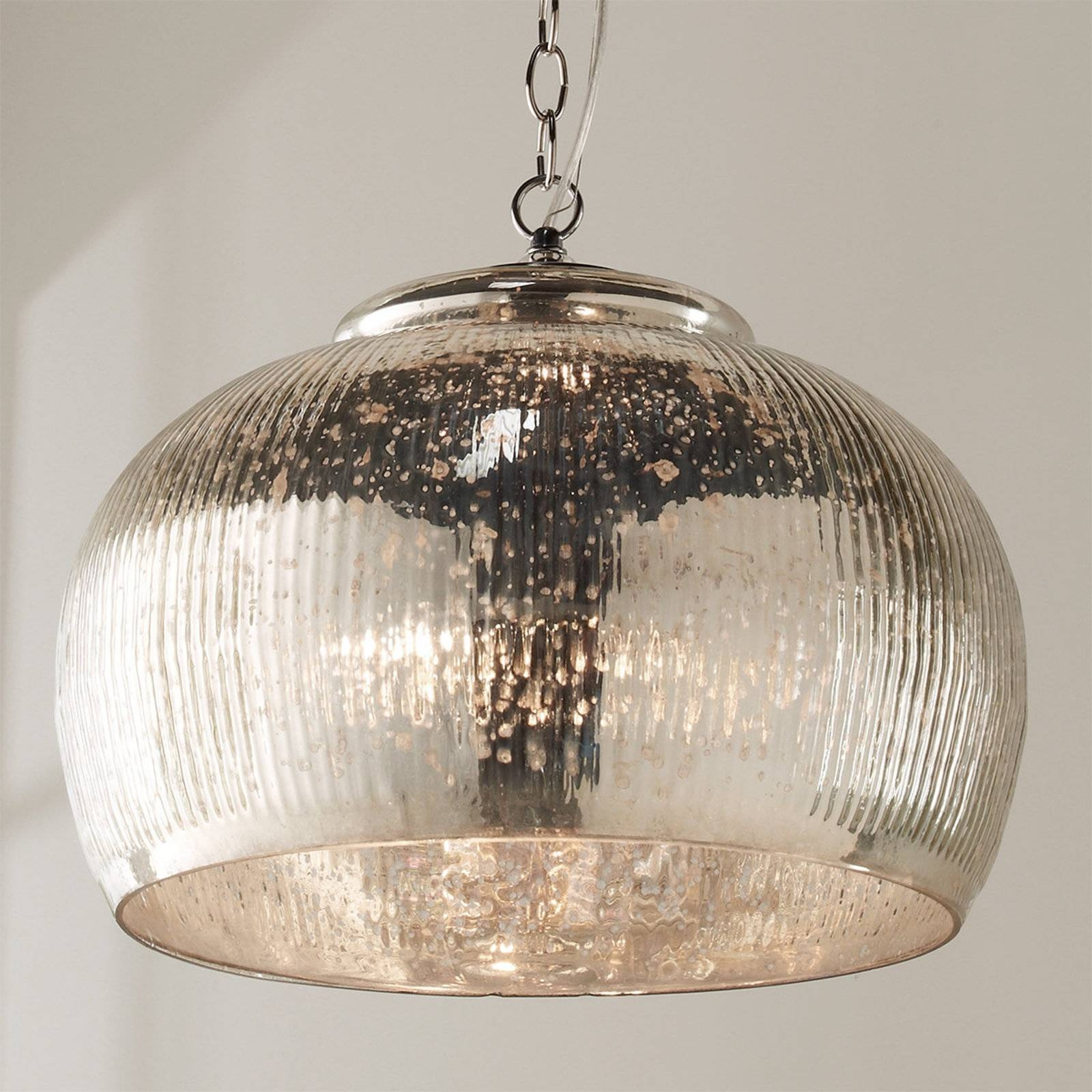 Chandelier: Enticing Mercury Glass Light Fixtures | Attractive with Mercury Glass Lighting Fixtures (Image 2 of 15)
