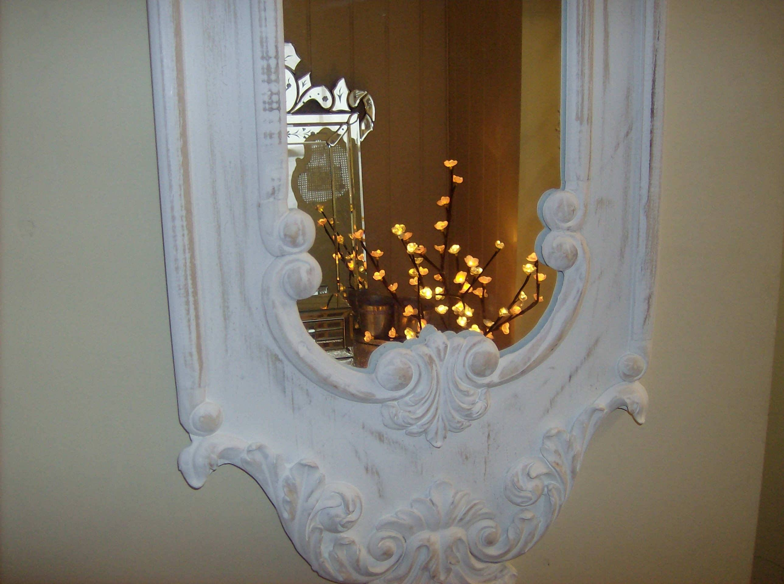 Cheap Shabby Chic Mirrors Uk: The Paper Mulberry: Perfectly Pale within Cheap Shabby Chic Mirrors (Image 7 of 15)