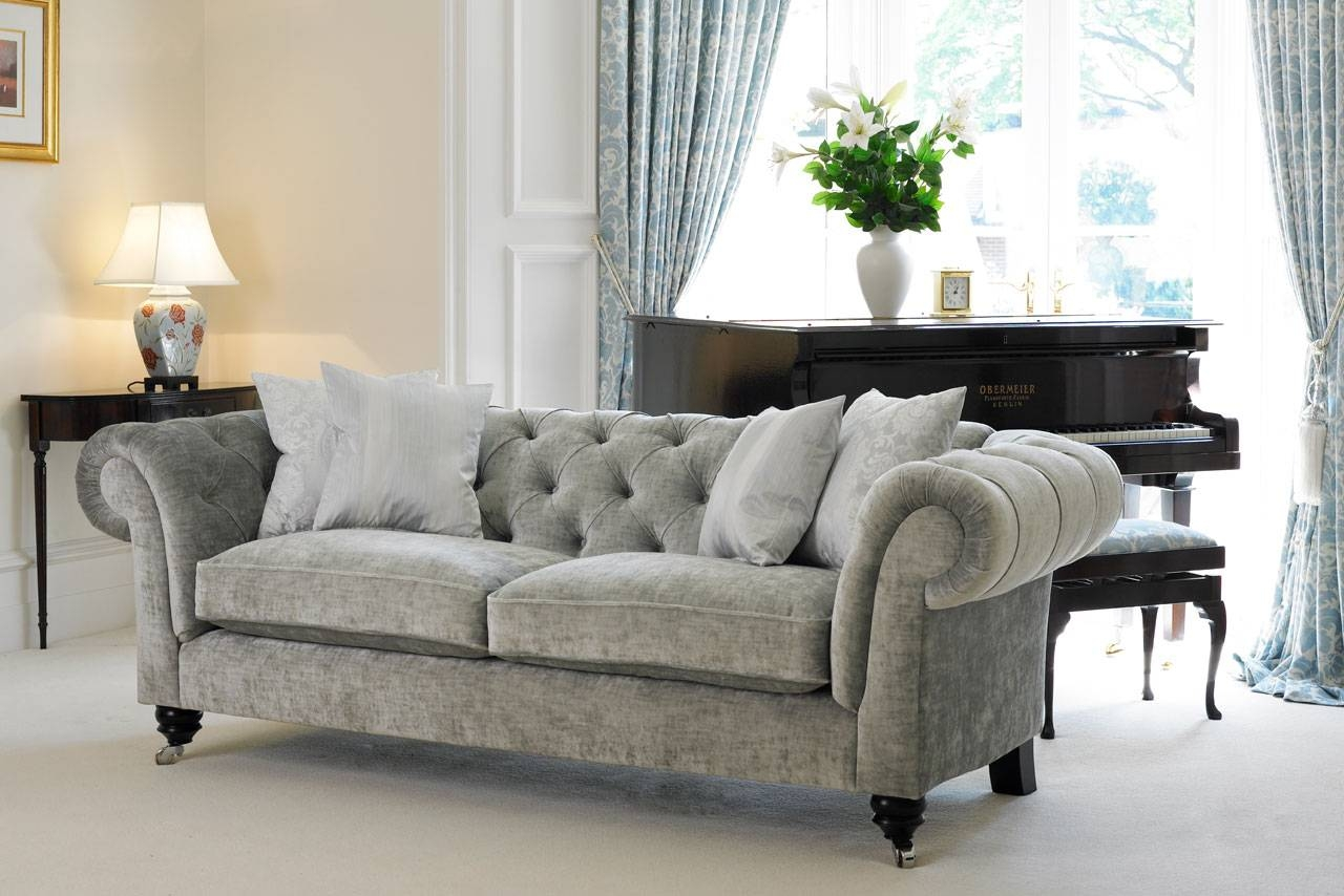 Chesterfield Sofa | Delcor Bespoke Furniture regarding Chesterfield Sofas and Chairs (Image 5 of 15)