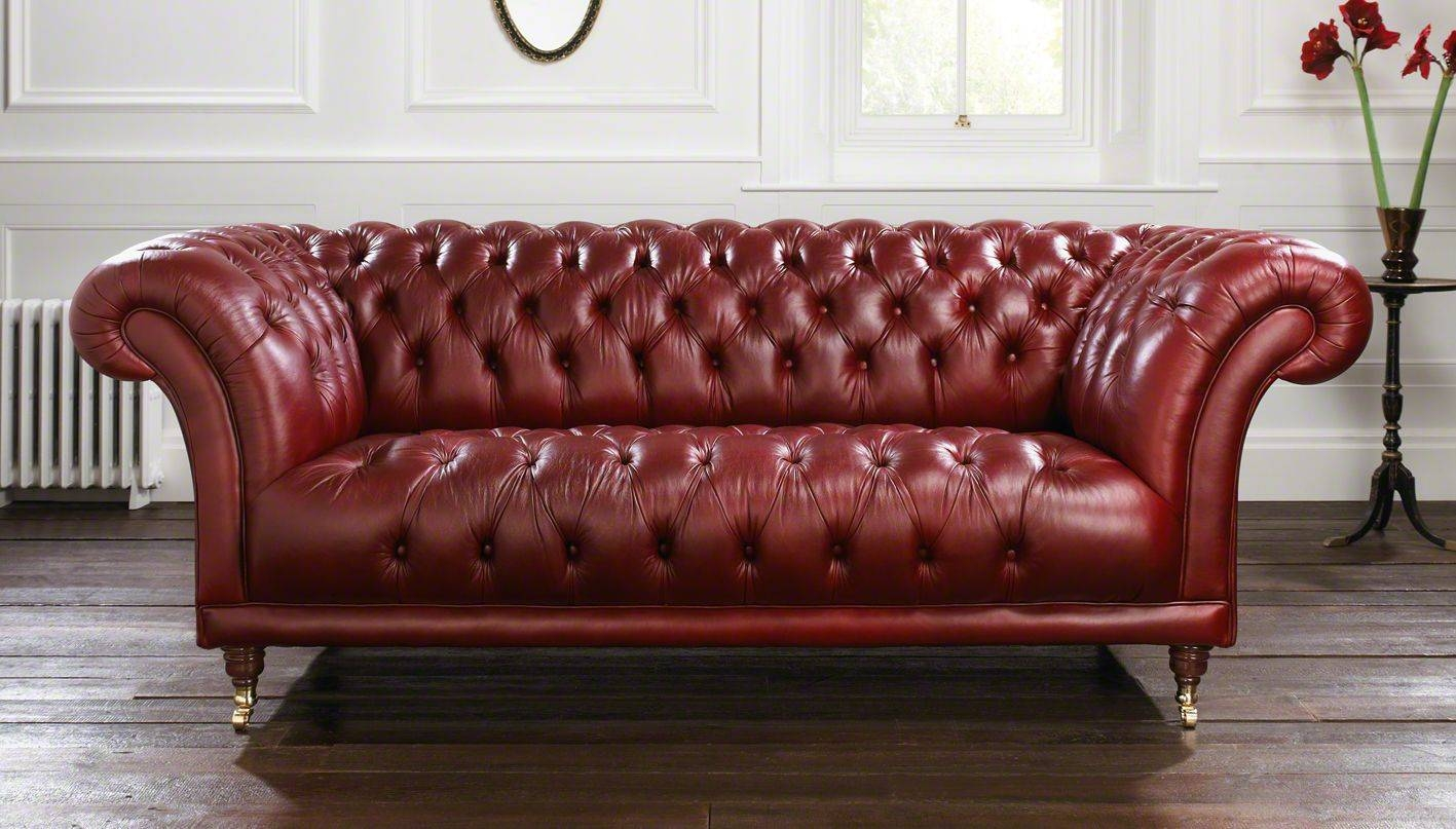 Chesterfield Sofas Sale - Now On! intended for Red Chesterfield Sofas (Image 6 of 15)