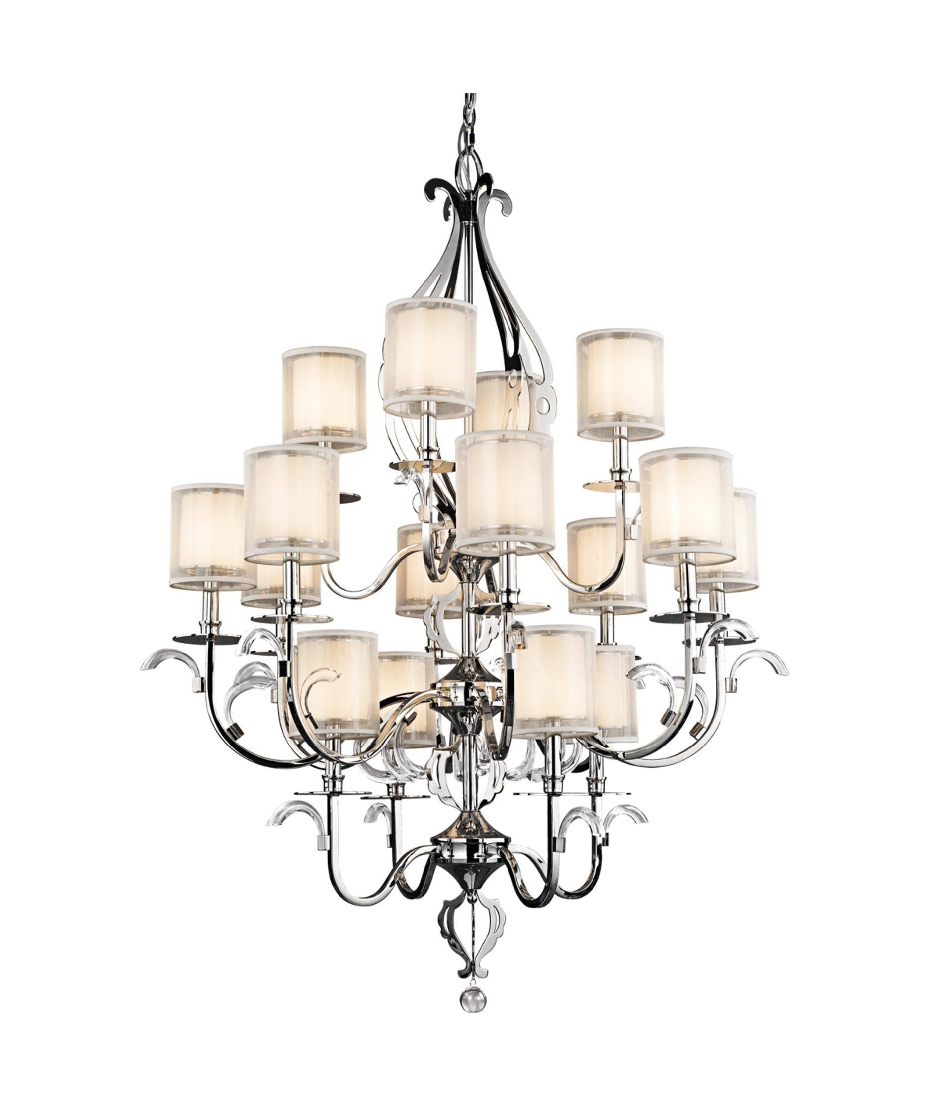 Chic Chandelier With Matching Pendant Lights Pendant Light with regard to Matching Pendant Lights and Chandeliers (Image 6 of 15)