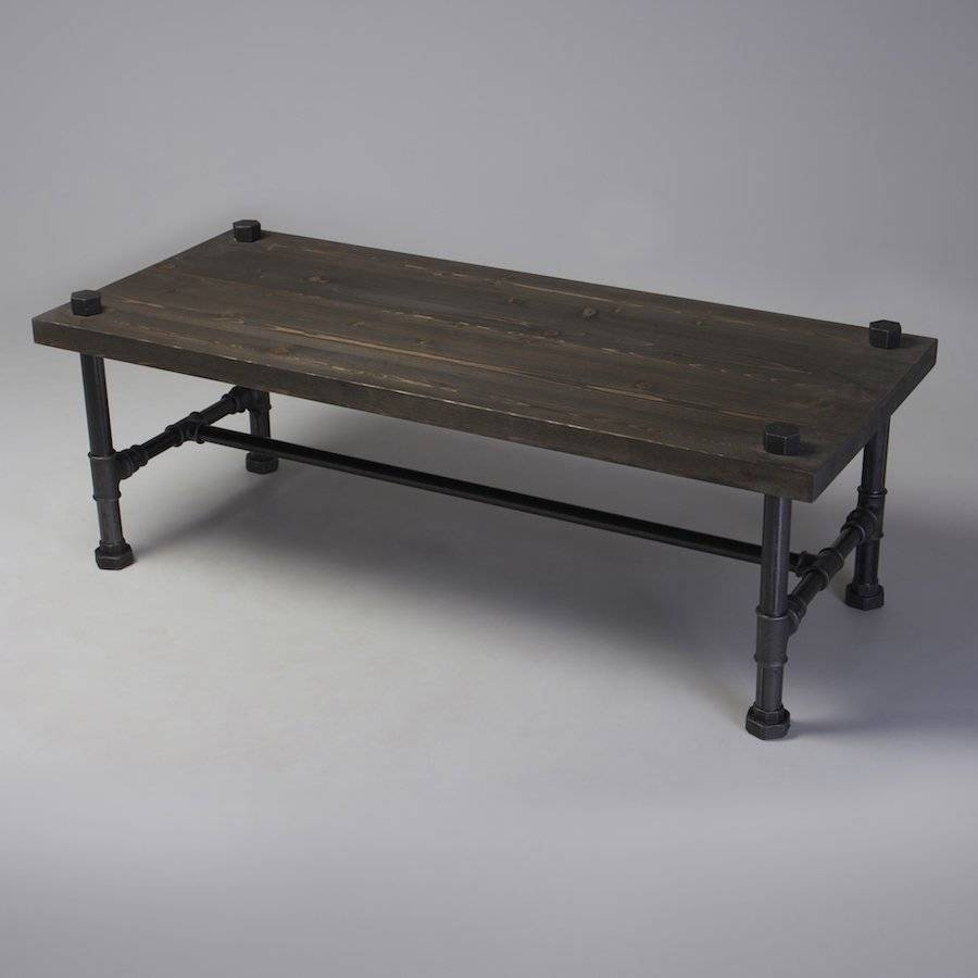 Classic Industrial Style Coffee Table | Cosywood.co (View 7 of 15)