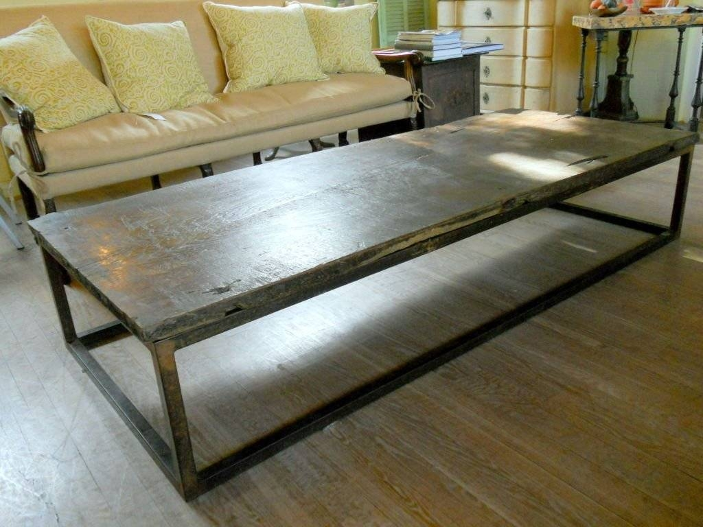 Classy Huge Coffee Tables With Additional Small Home Decoration inside Huge Coffee Tables (Image 3 of 15)