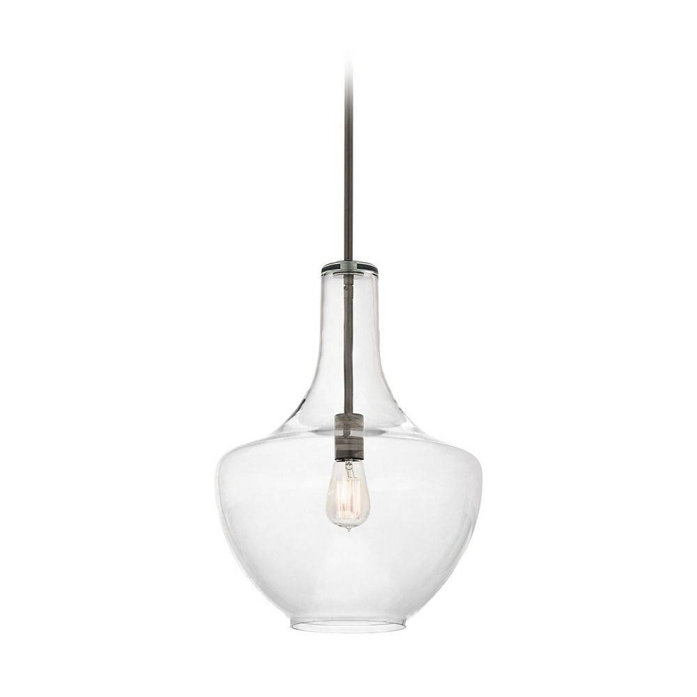 Clear Glass Pendant Light | Home Lighting Insight with regard to Clear Glass Ball Pendant Lights (Image 5 of 15)