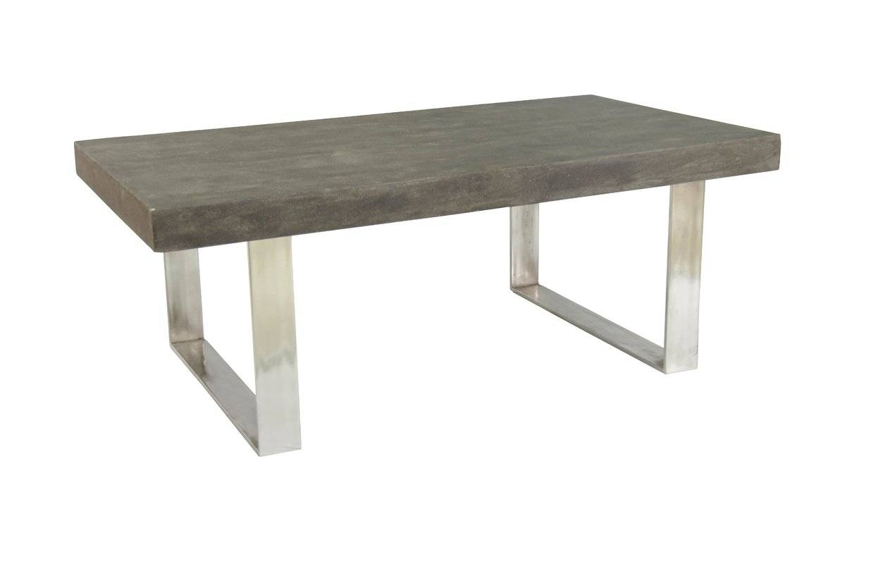 Coast To Coast Imports Coffee Table & Reviews | Wayfair within Rectangular Coffee Tables (Image 4 of 15)
