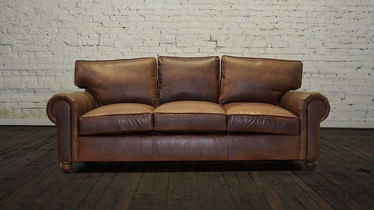 Cococohome | Lexington Leather Sofa - Made In Usa pertaining to Brompton Leather Sectional Sofas (Image 7 of 15)