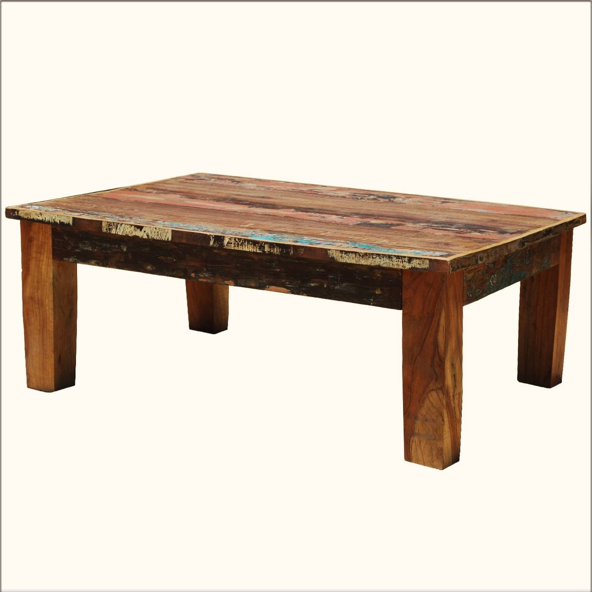 Coffee Table: Appealing Rustic Wood Coffee Tables Ideas Rustic with regard to Rustic Wooden Coffee Tables (Image 4 of 15)